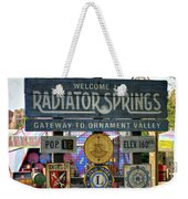 Welcome To Radiator Springs Weekender Tote Bag