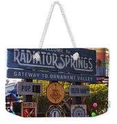 Welcome To Radiator Springs Weekender Tote Bag