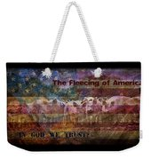 Welcome To The New America Weekender Tote Bag