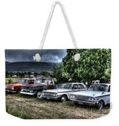Well Used Cars For Sale Weekender Tote Bag