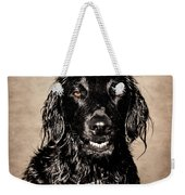 Well You Did Ask For My Best Portrait Smile Weekender Tote Bag