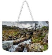 Welsh Bridge Weekender Tote Bag by Adrian Evans