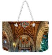 Welsh Christmas Weekender Tote Bag
