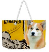 Welsh Corgi Pembroke Art Canvas Print - 12 Angry Men Movie Poster Weekender Tote Bag