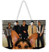 Welsh Corgi Pembroke Art Canvas Print - The Usual Suspects Movie Poster Weekender Tote Bag