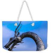 Welsh Dragon Head Weekender Tote Bag