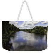 Welsh River Scene Weekender Tote Bag
