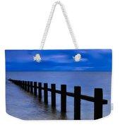 Welsh Seascape Weekender Tote Bag by Adrian Evans