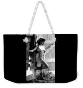 Wendy Barn Door-2 Weekender Tote Bag