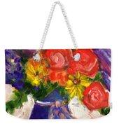 Wendy's Floral Weekender Tote Bag