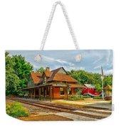 Wenonah Train Station Weekender Tote Bag