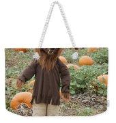Werewolf In The Pumpkin Patch Weekender Tote Bag