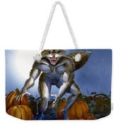 Werewolf With Pumpkins Weekender Tote Bag