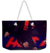 Wesley Sneijder  Weekender Tote Bag by Paul Meijering