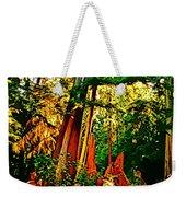 West Coast Rainforest Weekender Tote Bag