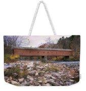 West Cornwall Covered Bridge Weekender Tote Bag
