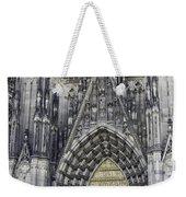 West Entrance Door Cologne Cathedral Weekender Tote Bag