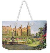 West Front And Gardens Of Hatfield Weekender Tote Bag