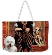 West Highland White Terrier Art Canvas Print - A Dogs Life Movie Poster Weekender Tote Bag