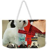West Highland White Terrier Art Canvas Print - All About Eve Movie Poster Weekender Tote Bag