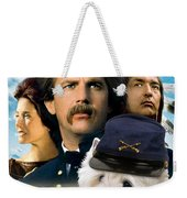 West Highland White Terrier Art Canvas Print - Dances With Wolves Movie Poster Weekender Tote Bag