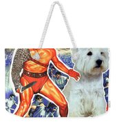 West Highland White Terrier Art Canvas Print - Spartacus Movie Poster Weekender Tote Bag