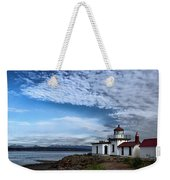 West Point Lighthouse II Weekender Tote Bag