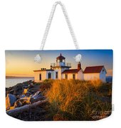 West Point Lighthouse Weekender Tote Bag