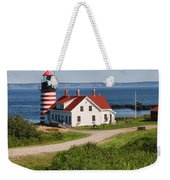 West Quaddy Lighthouse Weekender Tote Bag