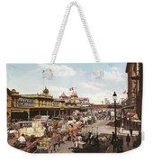 West Street New York 1901 Weekender Tote Bag