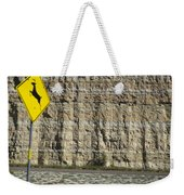 West  Texas  Interstate 10  At  80  Mph - 2 Weekender Tote Bag