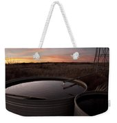 West Texas Plains Sunset Weekender Tote Bag by Melany Sarafis