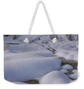 West Thumb Snow Pillows II Weekender Tote Bag