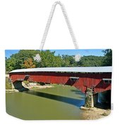 West Union Covered Bridge 2 Weekender Tote Bag