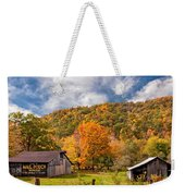 West Virginia Barns  Weekender Tote Bag