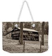 West Virginia Classic Sepia Weekender Tote Bag