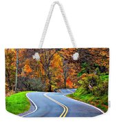 West Virginia Curves 2 Weekender Tote Bag