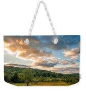 West Virginia Sunset Weekender Tote Bag