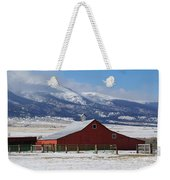 Westcliffe Landmark - The Red Barn Weekender Tote Bag