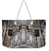 Westerkerk Organ In Amsterdam Weekender Tote Bag