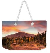 Western Barn At Sunset II Weekender Tote Bag