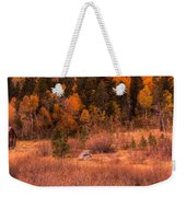 Western Barn At Sunset Iv Weekender Tote Bag