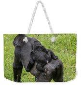 Western Lowland Gorilla 1 Weekender Tote Bag