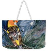 Western Tanager At Mt. Falcon Park Weekender Tote Bag