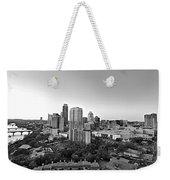 Western View Of Austin Skyline Weekender Tote Bag