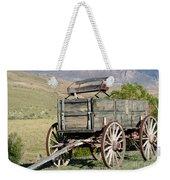 Western Wagon Weekender Tote Bag