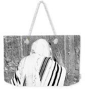 Western Wall Devotion Weekender Tote Bag