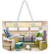 Westie Retreat  Weekender Tote Bag