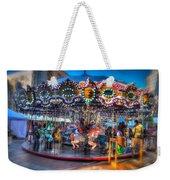 Westlake Carousel Weekender Tote Bag