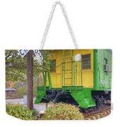 Weston Railroad Crossing Weekender Tote Bag